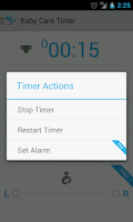 Screenshot of Baby Care Timer Lite