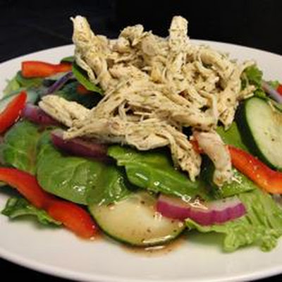 Fresh Chicken Salad with Baby Greens