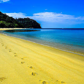 Teluk Kampi Beach by Michael Lee - Landscapes Beaches ( landscape, beach )
