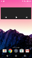 Screenshot of Jack's Music Widget