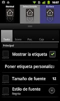 Screenshot of Lightning Launcher - Español