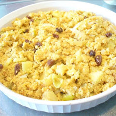 Green Apple & Tomatillo Cornbread Dressing