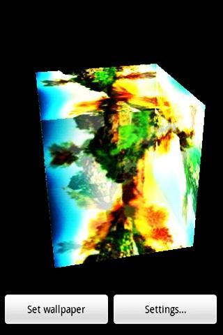 3Dの風景