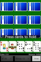Screenshot of Jumbo Video Poker Free