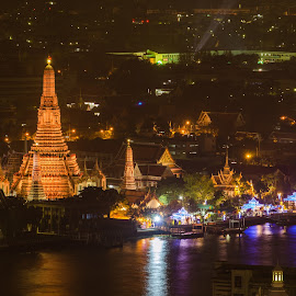 wat arun by Boy Gek - Landscapes Travel ( wat arun bangkok  thailand )