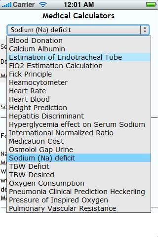 Medical Calculators Set 4