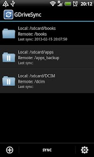 GDriveSync Screenshot