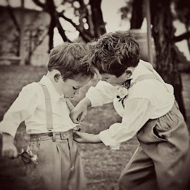 Brothers by Alan Evans - Wedding Other ( , improving mood, moods, red, love, the mood factory, inspirational, passion, passionate, enthusiasm )