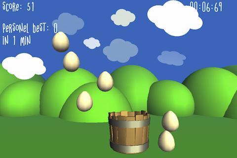 Eggs Splash Counting Math Game