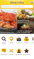 Screenshot of OpenRice Malaysia