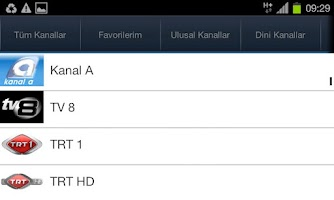 Screenshot of TVGO Canli Tv