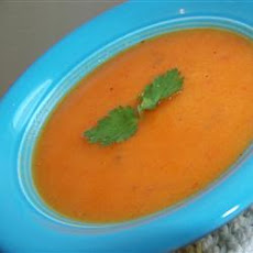 Peppery Sweet Potato Soup