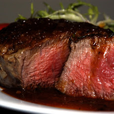 Beef Fillet with Merlot Glaze