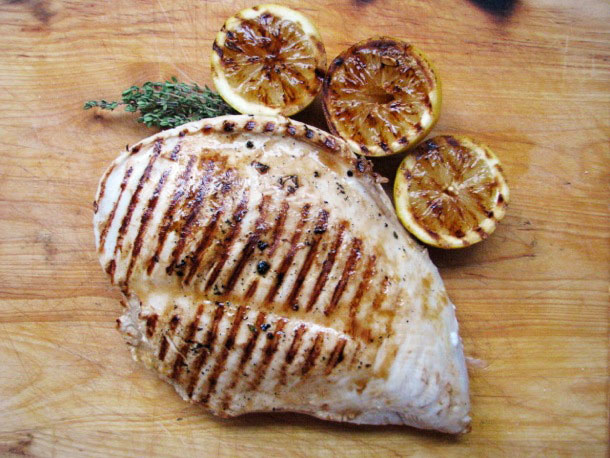 Lemon Grilled Turkey Breast