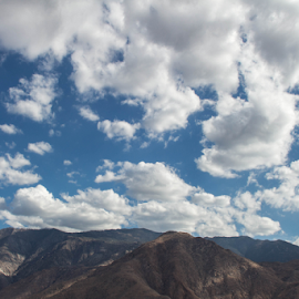 PS I LOVE YOU...  by Alan Gonick - Landscapes Cloud Formations ( 3d, palm springs, palmsprings, mt. san jacinto )