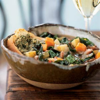 Ribollita with Herb Pesto