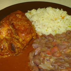 Pollo Enchilado