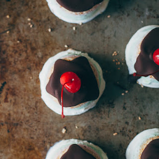 Upside Down Mini Gelato Cakes