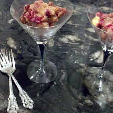 White Chocolate Cranberry Bread Pudding