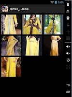 Screenshot of Moroccan caftan