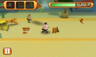 Screenshot of Run Fatty Run Free