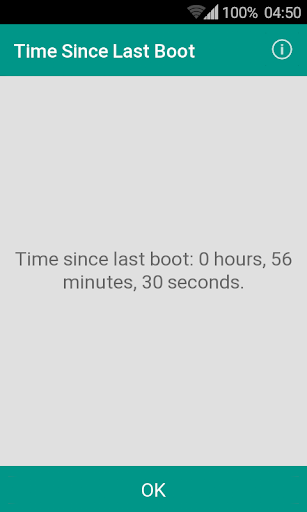 Uptime (Time Since Last Boot) Apk Download Free for PC, smart TV