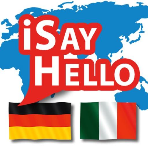 旅遊App|iSayHello 德语 - 意大利语 LOGO-3C達人阿輝的APP