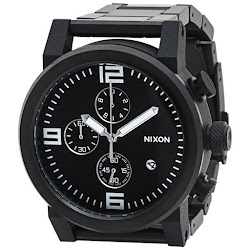 Nixon Ride Watch - Stainless Steel Band (For Men)