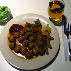 Highland Meatballs With Mustard and Whisky Sauce