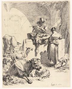 RIJKS: Nicolaes Pietersz. Berchem: print 1652