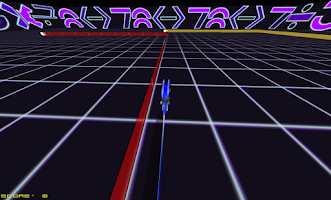 Screenshot of Tron Racing