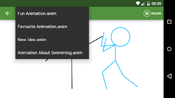 Screenshot of Stickfigure Animator