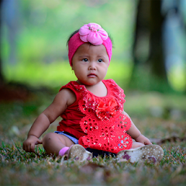 Alone by Doeh Namaku - Babies & Children Children Candids