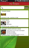 Screenshot of My Recipes Book