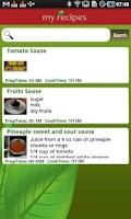 Screenshot of My Recipes Book