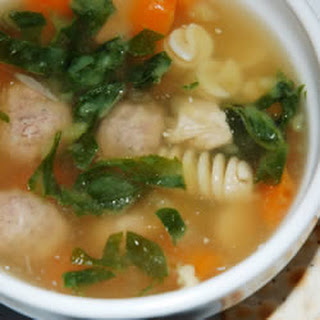Mama's Italian Wedding Soup
