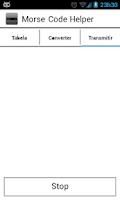 Screenshot of Morse Code Helper