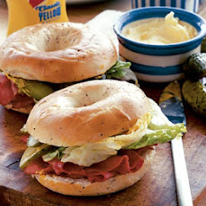 Hot Pastrami Bagels