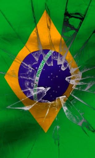 巴西國旗現場壁紙