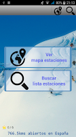 Screenshot of Parte de Nieve y Mapas