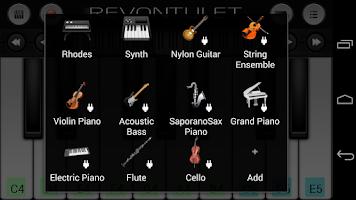 Screenshot of Cello Sound Plugin