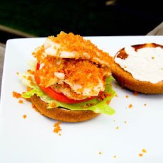 Flaky Fish Sandwich