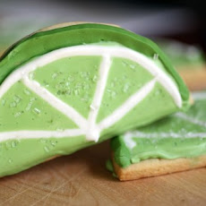 Lime Sugar Cookies