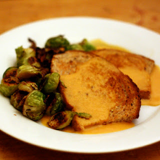 Welsh Rarebit with Brussels Sprouts