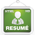 Resume Creator HD + HTML icon