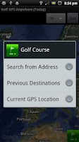 Screenshot of Golf GPS Anywhere