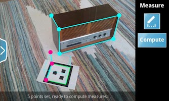 Screenshot of Happy Measure 3D Ruler