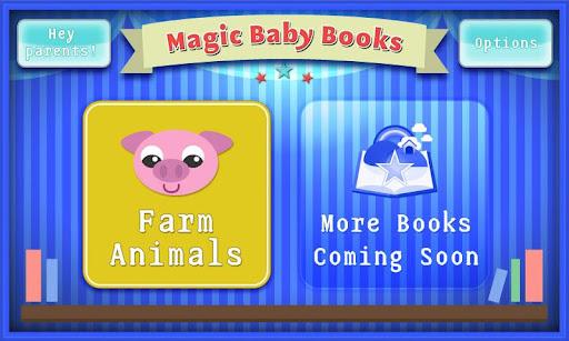 Magic Baby Books Farm Animals