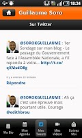 Screenshot of Guillaume Soro