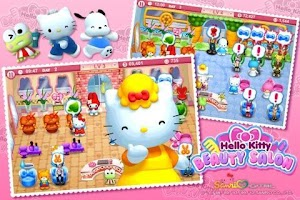 Screenshot of Hello Kitty Beauty-Salon